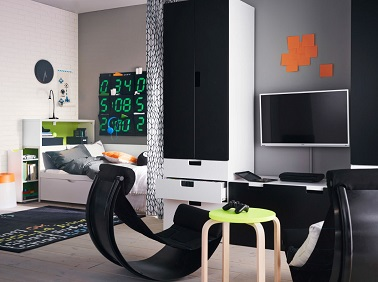 deco chambre ado garcon ikea visuel 6. Black Bedroom Furniture Sets. Home Design Ideas