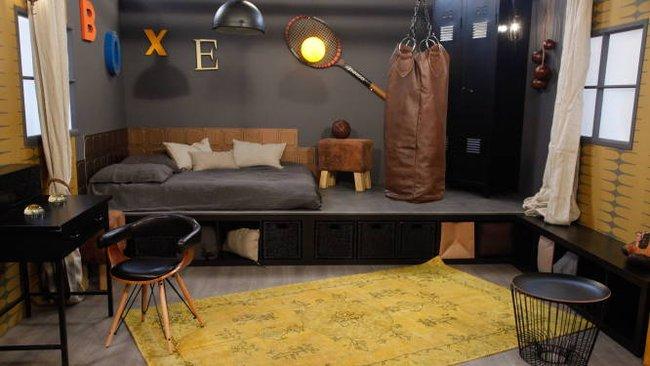 deco chambre ado style industriel - visuel #8