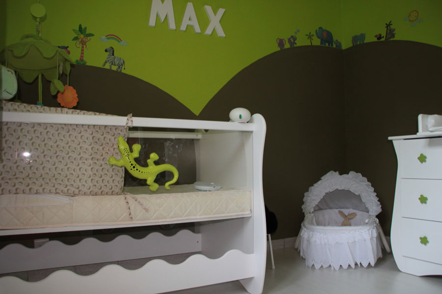 Deco chambre bebe savane jungle for Decoration chambre jungle