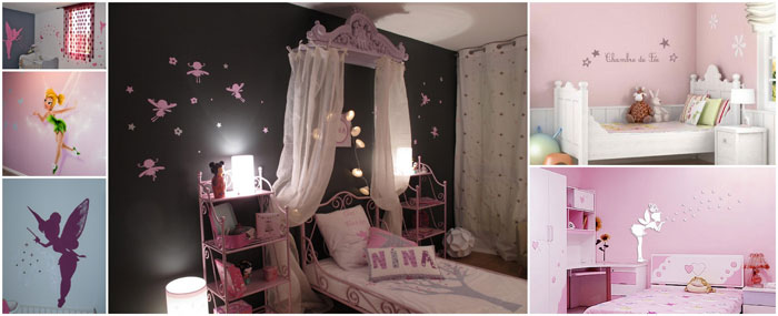 deco chambre bebe theme fee visuel 1. Black Bedroom Furniture Sets. Home Design Ideas