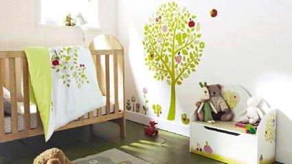 deco chambre bebe theme nature - visuel #1