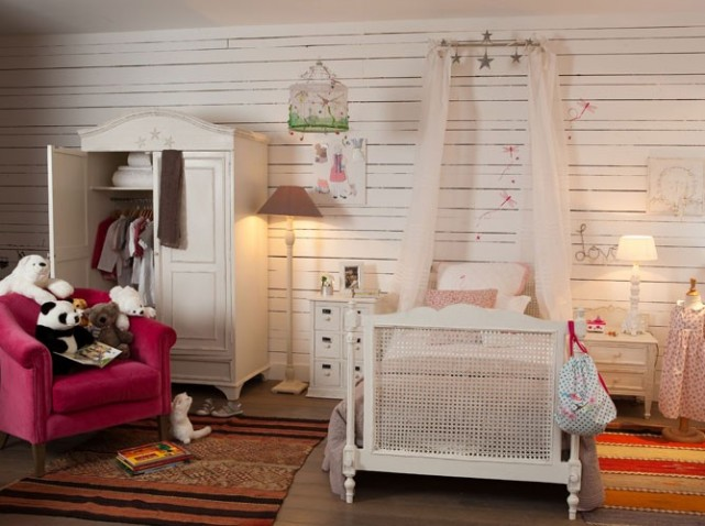 Chambre Romantique Fille. Deco Shabby Chic Chambre Fille Best Chic ...