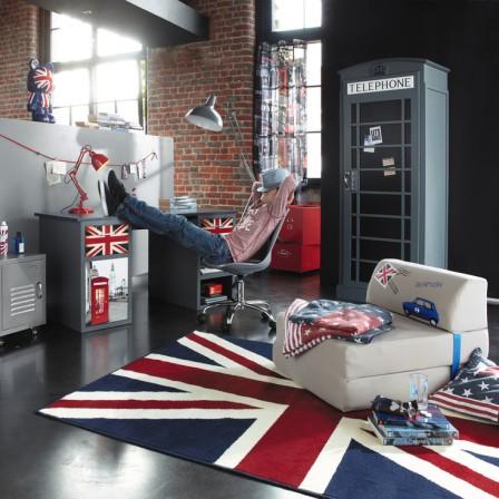 deco chambre garcon rouge et gris visuel 6. Black Bedroom Furniture Sets. Home Design Ideas