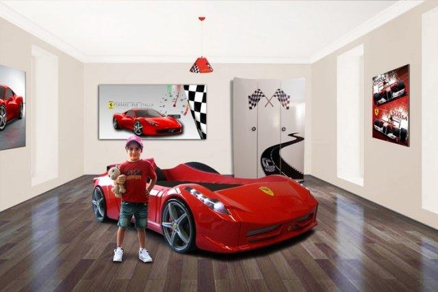deco chambre garcon voiture - visuel #1