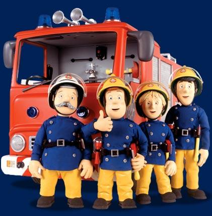 Deco chambre sam le pompier - Sam le pompier personnages ...