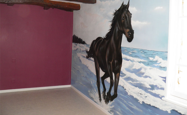 deco chambre theme cheval. Black Bedroom Furniture Sets. Home Design Ideas