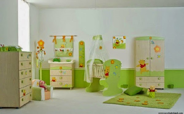 Deco de chambre bebe winnie l ourson visuel 6 for Deco ourson chambre bebe