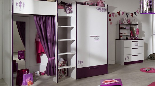 deco pour chambre jeune fille. Black Bedroom Furniture Sets. Home Design Ideas