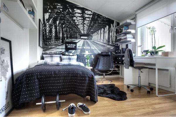 Emejing Deco Noir Et Blanc Chambre Ado Pictures - Design Trends ...