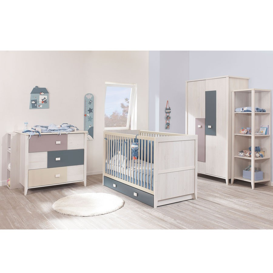 Decoration chambre bebe 9 visuel 2 for Bebe 9 chambre jules