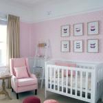 decoration chambre bebe fille peinture