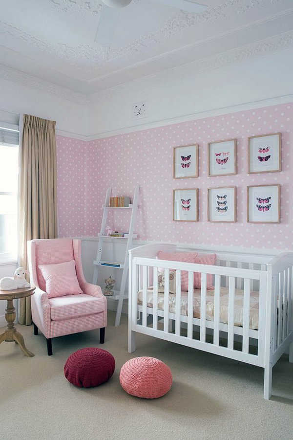 decoration chambre bebe fille peinture. Black Bedroom Furniture Sets. Home Design Ideas
