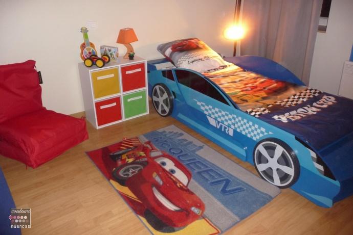 Decoration chambre cars valerie damidot deco chambre ado for Decoration chambre cars