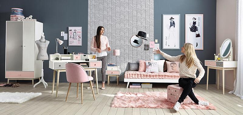 decoration chambre fille maison du monde - visuel #4