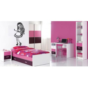 Decoration chambre fille monster high - Deco chambre monster high ...