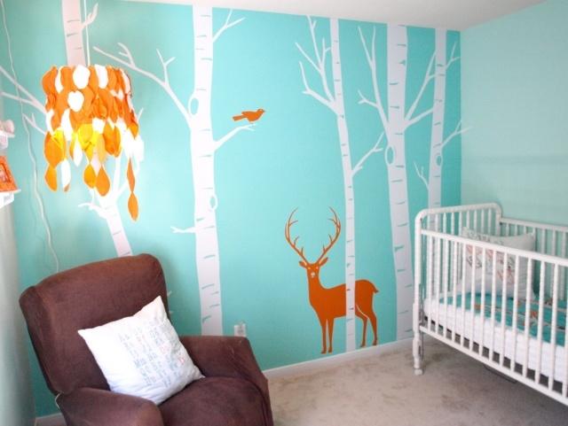 decoration chambre fille turquoise - visuel #4
