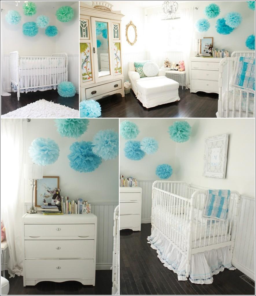 decoration chambre fille turquoise - visuel #5