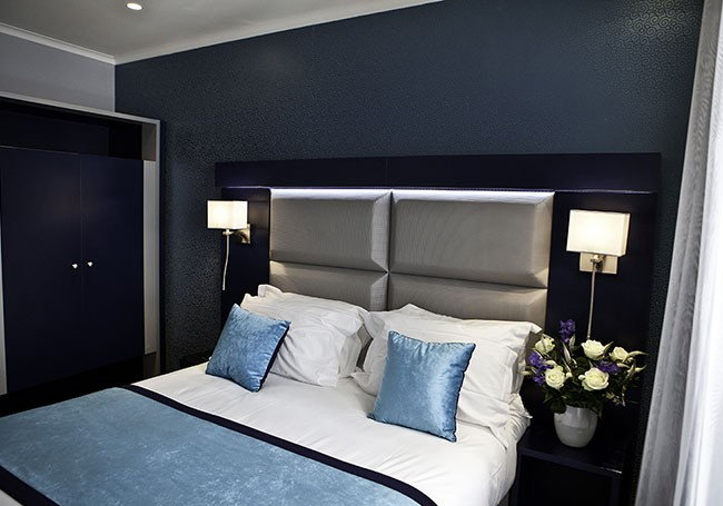 decoration chambre gris et bleu visuel 4. Black Bedroom Furniture Sets. Home Design Ideas