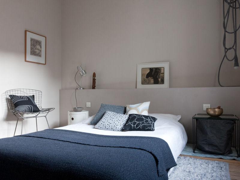 Emejing Idee Deco Chambre Gris Et Blanc Photos - Matkin.info ...