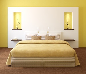Stunning Chambre A Coucher Jaune Et Blanc Gallery - lalawgroup.us ...