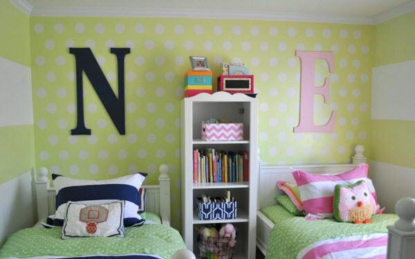 decoration chambre mixte - visuel #1