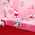 Decoration chambre petite fille hello kitty - Chambre fille hello kitty ...