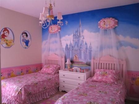 Decoration Chambre Princesse Disney Visuel 2