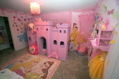 decoration chambre princesse disney