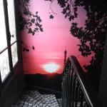 decoration chambre rose et noir