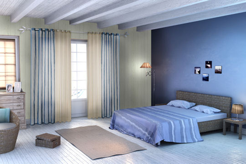 decoration chambre theme mer