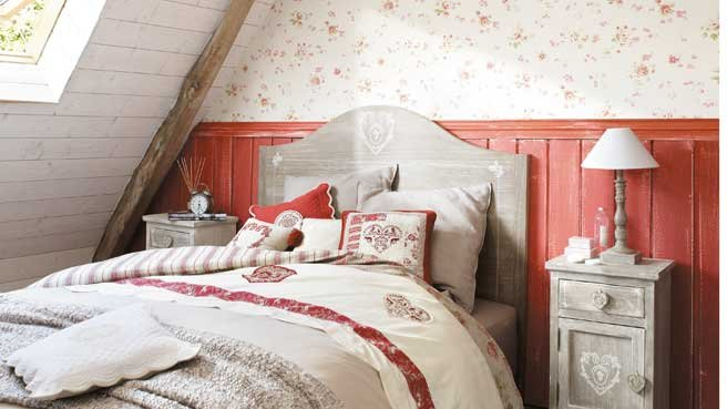 Emejing Decoration Chambre Style Campagne Pictures - Ridgewayng ...