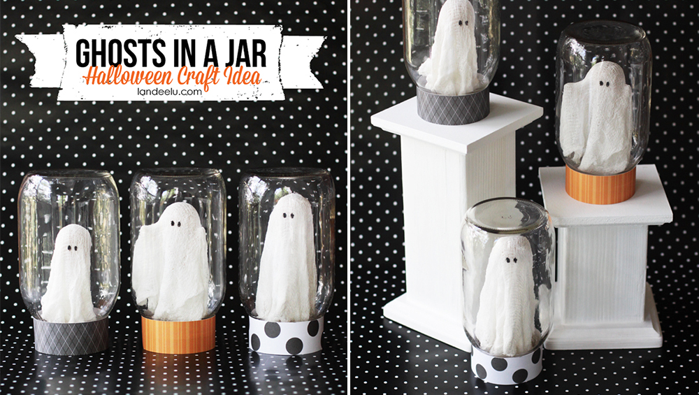 Decoration halloween a fabriquer - Deco facile halloween ...