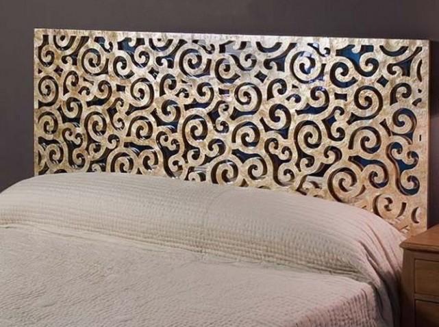 Decoration murale tete lit visuel 7 - Tete de lit murale ...