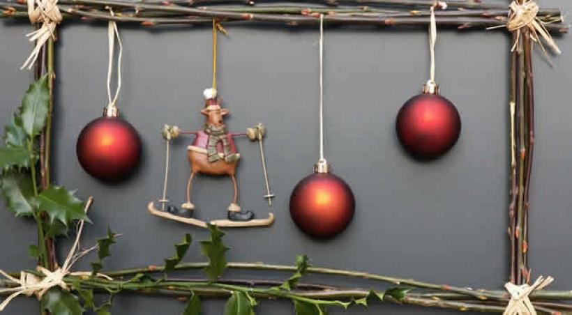 Fabriquer decoration de noel naturel - Mobile de noel a fabriquer ...