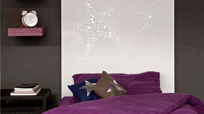decoration tete de lit lumineuse - visuel #6
