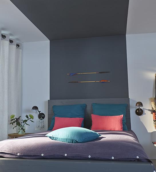 decoration tete de lit peinture - visuel #1