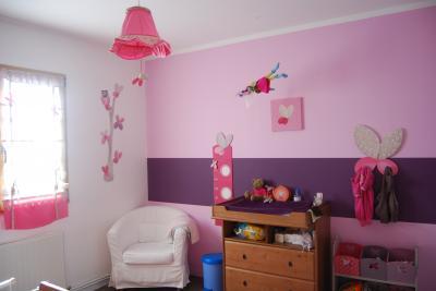 idee deco chambre bebe fille mauve - visuel #2