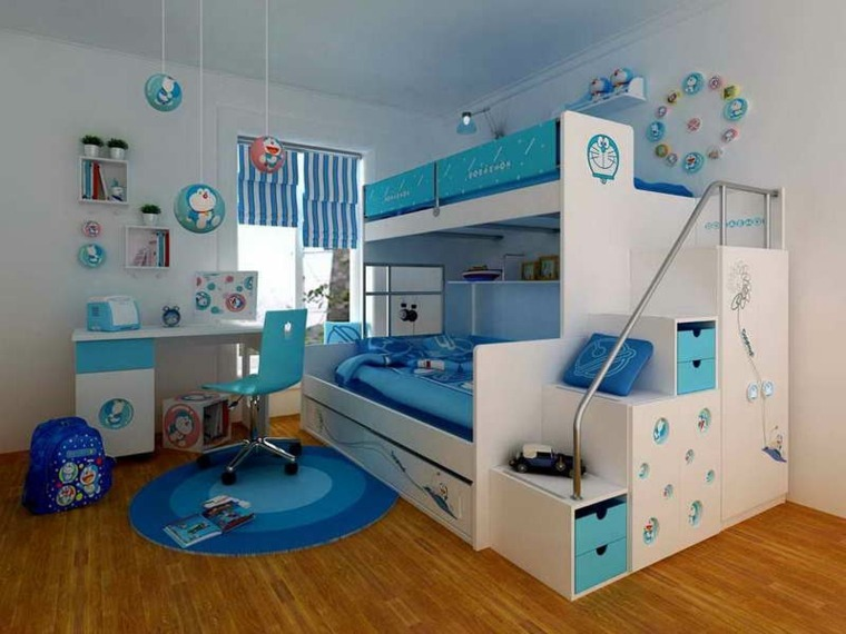 Chambre petit garçon - Idées de tricot gratuit