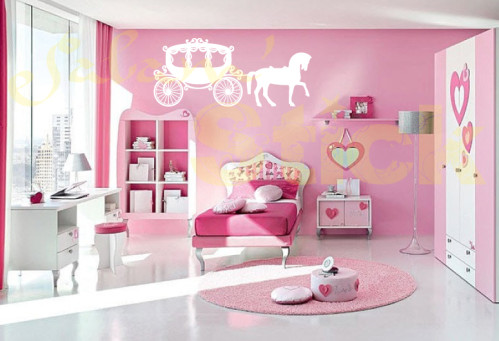 idee decoration chambre fille princesse - visuel #7