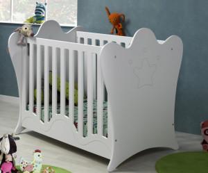 lit bebe barreaux ou plexiglas