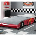 lit junior sleep car rouge