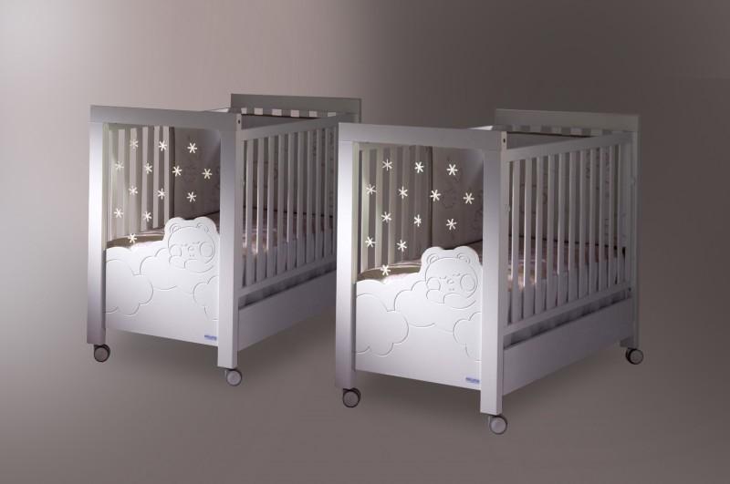 Lits pour jumeaux bebes visuel 4 - Lit double pour bebe jumeaux ...
