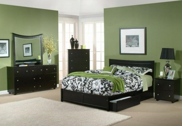 Deco Chambre Verte. Stunning Deco Chambre Vert Et Jaune Pictures ...