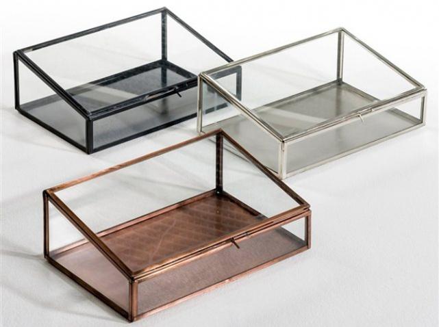 Boite a bijoux en verre visuel 8 for Decoration boite a bijoux