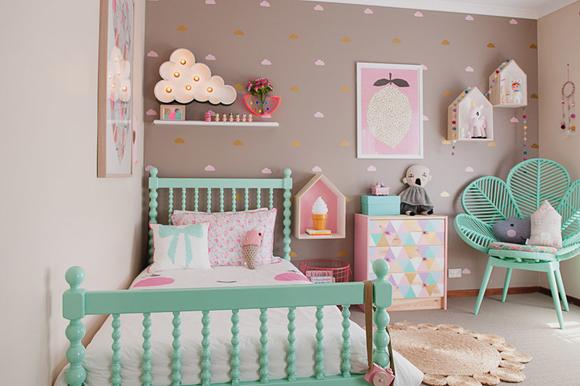 chambre deco petite fille - visuel #2