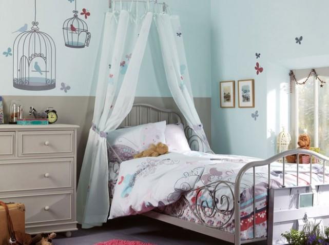 Chambre deco petite fille for Decoration chambre fille 9 ans