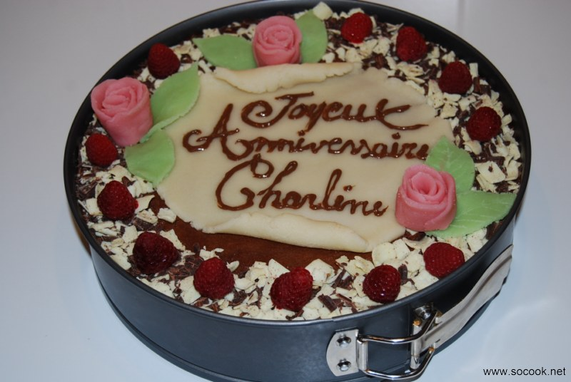 Id e d co gateau anniversaire chocolat - Comment faire un gateau ...