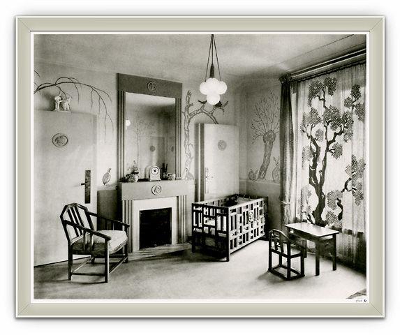 deco chambre 1930 visuel 1. Black Bedroom Furniture Sets. Home Design Ideas