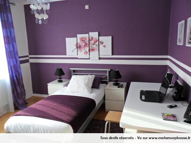 deco chambre ado moderne. Black Bedroom Furniture Sets. Home Design Ideas