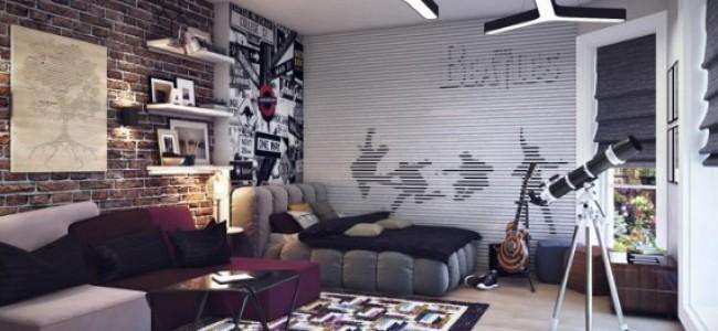 deco chambre ado style urbain - visuel #3
